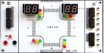 交通灯单片机电路原理图
