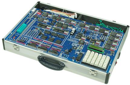(2)完善的硬件配置,实验电路以分立器件为主,同时配备cpld,支持部分