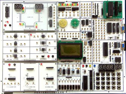 msp430交通灯电路图